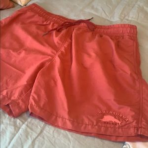 Tommy Bahama Mens Coral Swim Trunks Size XL